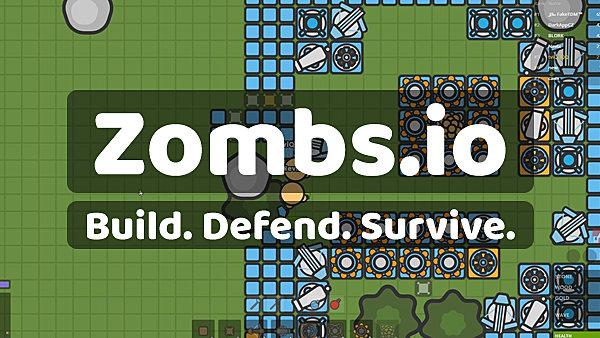 Zombs.io Build Defend Survive